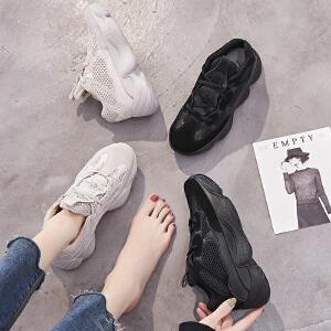 2018秋季新款韩版老爹鞋ins超火丑鞋椰子运动鞋ulzzang休闲女鞋子
