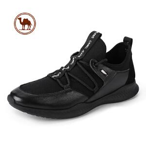 骆驼牌男鞋2018秋季新款男士椰子透气网鞋 运动休闲鞋ins超火的鞋