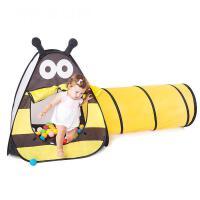 儿童帐篷游戏屋室内宝宝海洋球池婴儿小蜜蜂隧道爬行筒玩具屋抖音
