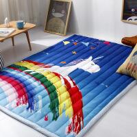 全棉卡通地垫卧室客厅宝宝爬行垫游戏地毯爬爬垫可机洗床垫瑜伽垫 0*200cm