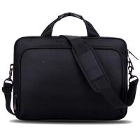 防震笔记本包14寸15寸15.6英寸17寸单肩商务包手提男女电脑包 简约版 14寸