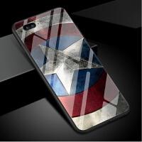 漫威iphonexs max手机壳苹果x玻璃套钢铁侠6s男女款7p蜘蛛侠8plus美国队长六复仇者联