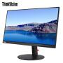 联想显示器ThinkVision P27u液晶显示器 27英寸UHD 4K分辨率纤薄窄边IPS硬屏广视角 可旋转升降显示器,99%sRGB色域高端显示器