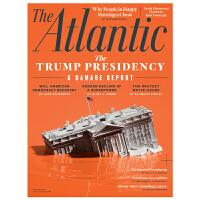 包邮全年订阅 The Atlantic 人文社科杂志 美国英文原版 年订10期