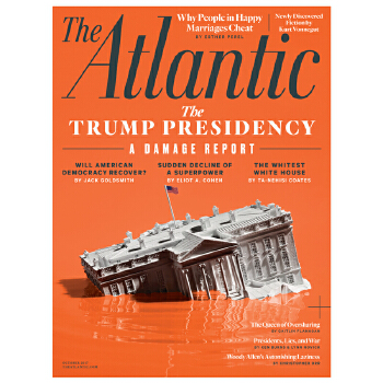 包邮全年订阅 The Atlantic 人文社科杂志 美国英文原版 年订10期 E035 一本有关文学 政治、科学 与艺术的杂志