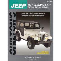 【预订】Jeep Cj/Scrambler, 1971-86