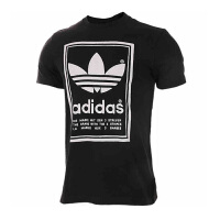 Adidas阿迪达斯男装 三叶草运动休闲圆领短袖T恤 BP6154/BS3136 现