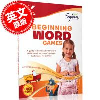 现货 幼儿园英语启蒙单词游戏 英文原版 Kindergarten Beginning Word Games 儿童有英语