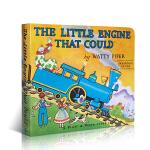 英文原版The Little Engine That Could 勇敢的小火车头做到了 培养自信心 纸版书 世纪经典童