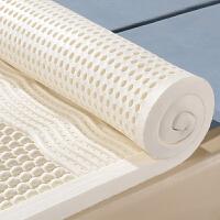 泰国天然乳胶床垫5cm榻榻米床垫床褥1.5m床1.8m1.2m床定做