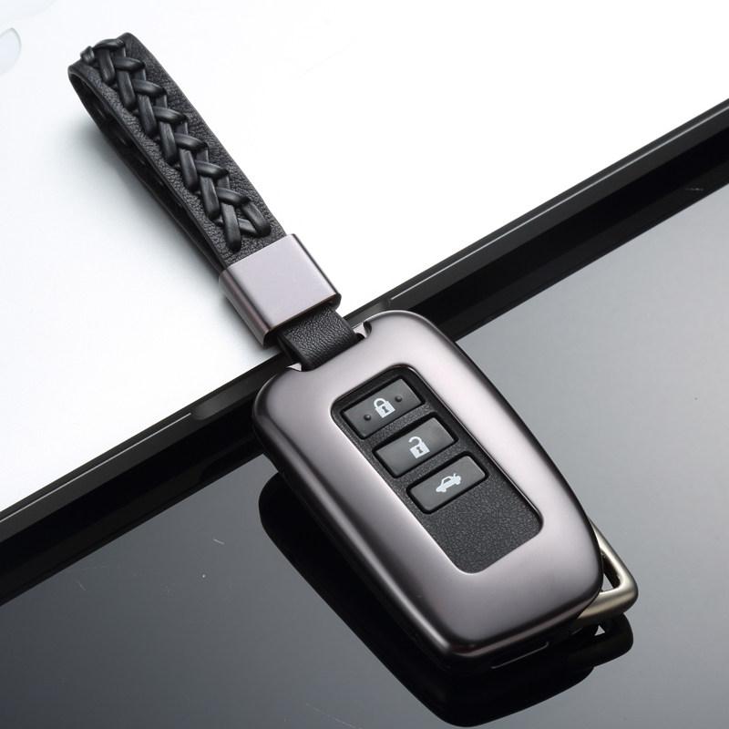 雷克萨斯钥匙包RX200t GS ES300 IS Nx200 ct钥匙套壳扣真皮凌志