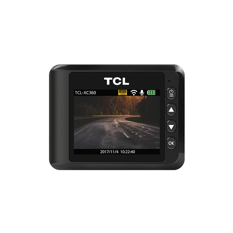 行车记录仪高清夜视单双镜头xc360全景汽车无线wifi隐藏式新款 汽车用品 黑色 高清夜视 超大广角 手机WIFI互联分享
