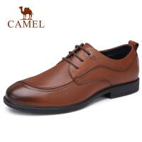 camel骆驼男鞋 秋季新款商务正装皮鞋牛皮差旅鞋国民男鞋爸爸鞋