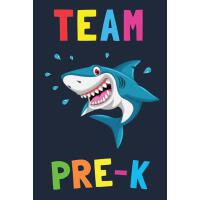 【�A�】Team Pre-K: Composition Notebook To Write In - 100 Blank