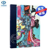英文原版 V&A博物馆 办公桌日记 2021日历本 V&A Desk Diary 2021: Kimono 和服艺术赏析