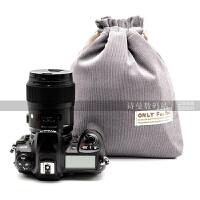 索尼A7R2 A9相机包富士XPRO2 佳能单反收纳内胆包 800d 80d相机包
