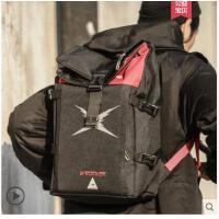 日韩时尚潮流休闲韩版初高中大学生书包双肩背包男电脑包旅行包女