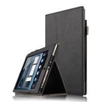 E人E本K8s/T8s保护套7.85商务平板电脑皮套全包边支撑外壳套 黑色【K8S商务款】送高清膜