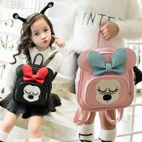 韩版男女童卡通背包小孩双肩背包儿童包包幼儿园宝宝可爱小书包