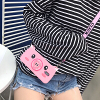 iphone7手机壳苹果8plus硅胶防摔男女款8网红同款相机猪苹果