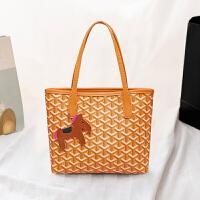 新款时尚印花女包单肩斜跨包韩版时尚小包包GS0506-K