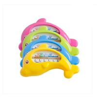 得力 9022小海豚儿童水温计 小巧温度计 湿度计