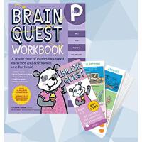 【现货合售】包邮英文原版 Brain Quest Preschool 卡片+Pre-K Workbook 练习册 4-