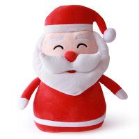 圣诞系列抱枕毛绒玩具送朋友圣诞节日礼物儿童毛绒玩具靠垫抱枕