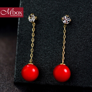 新年礼物Mbox耳钉 气质女款韩国版采用波西米亚风元素时尚耳钉耳环 醉相思