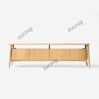 zuczugziinlife大度电视柜实木橡木简易视听柜现代中式设计师家具 整装