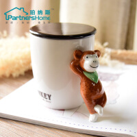 创意新款潮流大容量杯子陶瓷水杯子陶瓷咖啡杯带盖创意个性马克杯