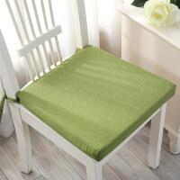 坐垫办公室餐椅垫防滑沙发垫汽车座垫榻榻米学生电脑椅子坐垫加厚 方形40X40cm(3厘米厚度)