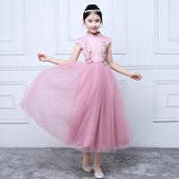 童装花童裙子蓬蓬裙公主裙夏儿童礼服女孩子走秀钢琴演出服长裙子