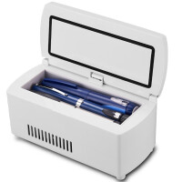 便携迷你智能恒温制冷充电式随身药品车载冰箱胰岛素冷藏盒