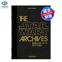英文原版 星球大战档案 1977-1983年 The Star Wars Archives 星战电影剧照访谈艺术书 TA
