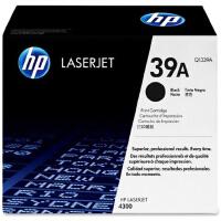 惠普原装正品 hp Q1339A黑色激光打印硒鼓 hp39A墨粉盒 惠普hp LaserJet 4300dtn 430