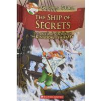 英文原版 老鼠记者与奇幻王国10:秘密之船 精装 The Ship of Secrets (Geronimo Stilt