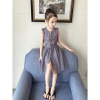 女童连衣裙夏季新款童装中大童夏装韩版洋气公主裙儿童裙子潮