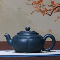 宜兴紫砂壶手工原矿绿泥观荷壶紫砂壶泡茶壶茶具 观荷壶