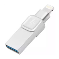 Kingston金士顿 苹果手机U盘32G Bolt 32G USB3.1优盘 金属iPhone iPad两用优盘 3