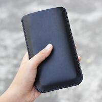 小米5000MAH移动电源套 2二代充电宝保护套 皮套收纳包 皮袋 软套 单层款 黑色