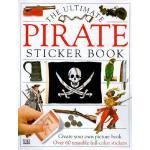 【预订】Ultimate Sticker Book: Pirate
