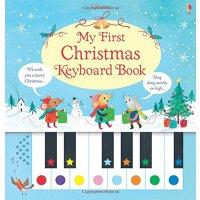 英文原版 宝宝钢琴键盘书 My First Christmas Keyboard Book 圣诞歌曲谱 儿童启蒙 钢琴