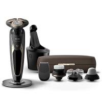 飞利浦(PHILIPS) 电动剃须刀SP9851充电式 多功能理容配件智能清洁系统