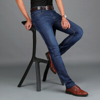 AFS JEEP战地吉普牛仔裤夏季男士牛仔长裤直筒宽松大码男裤 6901