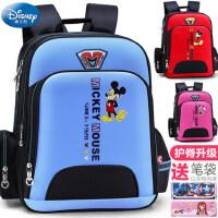 迪士尼男童一年级三小学生1女童3女孩4男孩5米奇6-12周岁儿童书包