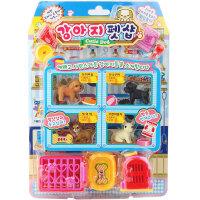 小伶冰淇淋仿真食物厨房宠物专卖店迷你过家家收银机儿童玩具女孩