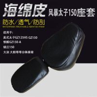 钱江摩托车坐垫网套风暴太子QJ150-18F蜂窝网座套QJ150-3A/B座垫SN6227