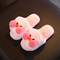 №【2019新款】冬天儿童穿的棉拖鞋秋可爱婴幼儿童毛拖鞋女童男童室内家居亲子鞋