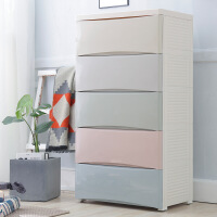 新品秒杀宝宝衣柜儿童抽屉式收纳柜子塑料自由组合储物柜婴儿整理箱五斗柜